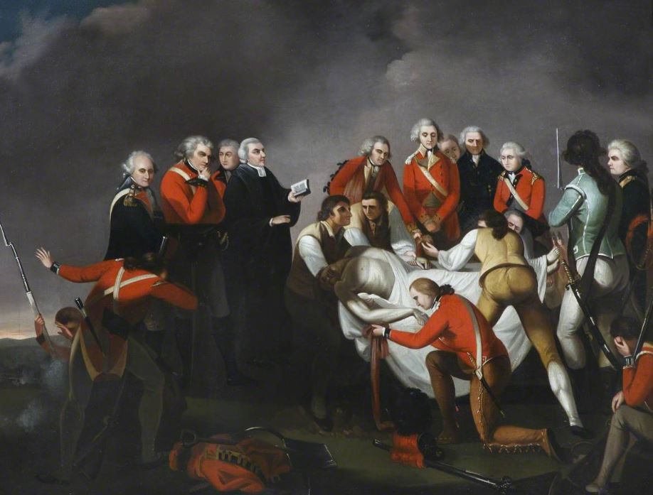 The Burial of General Simon Fraser, by John Graham